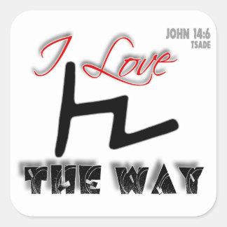 The Way (Tsade) Sticker