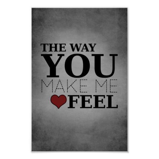 the way you make me feel poster