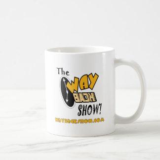 The Wayback Show Beverage Server Device Classic White Coffee Mug