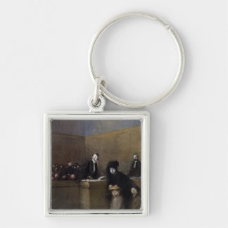 The Weak and the Oppressed, c.1910 Key Chain