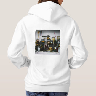 The Weapons and Armor of the Ancient Samurai Japan Hoodie