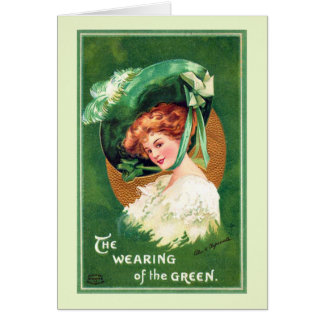 The Wearing Of The Green Greeting Card