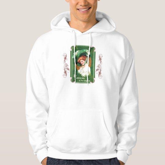 The Wearing Of The Green Hooded Sweatshirt