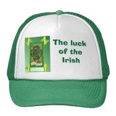 The wearing of the green, Irish 1 Trucker Hat