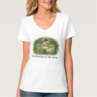 The Wearing of the Green - Shamrock T-Shirt - 1