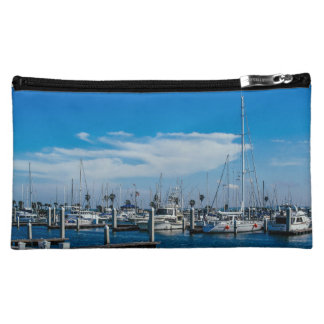 The weather is good, let's sail away cosmetic bag