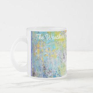 The Weather Map. Coffee Mugs