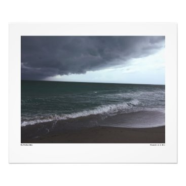 Beach Themed The Weather's Edge Photo Print