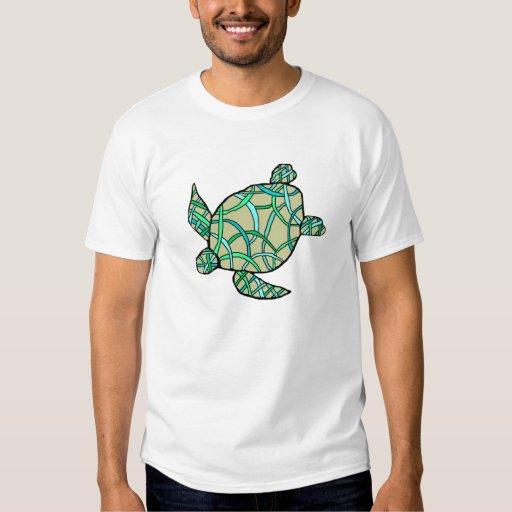 The weave honu sea turtle shirt