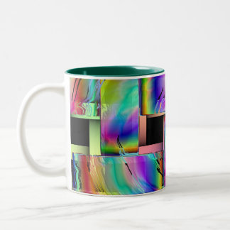 The Weave Two-Tone Coffee Mug