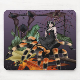 The Weaver - Spider Fairy Mousepad
