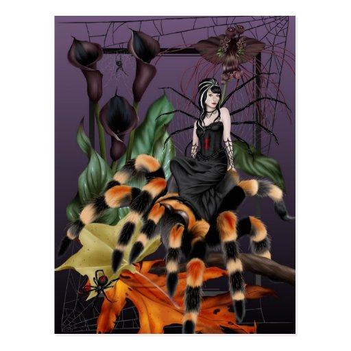 The Weaver - Spider Fairy Postcard