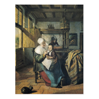 The Weaver's Workshop Postcard