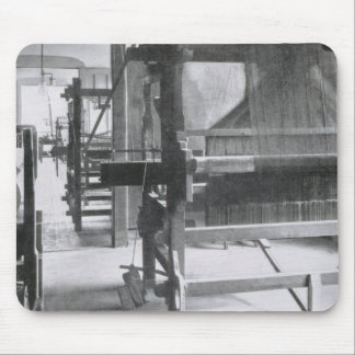 The Weaving Workshop, from the Workshops of the Ba Mouse Pad