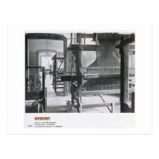 The Weaving Workshop, from the Workshops of the Ba Postcard