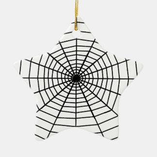 The Web Ceramic Ornament
