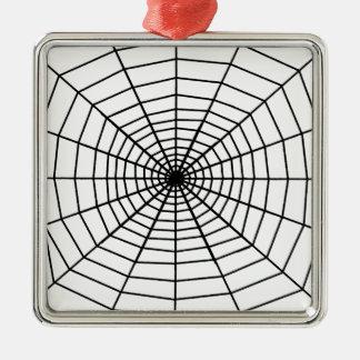 The Web Metal Ornament