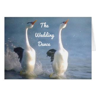 THE WEDDDING DANCE ESPECIALLY FOR YOU CARD