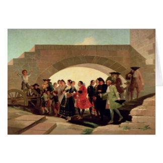 The Wedding, 1791-92 Greeting Card