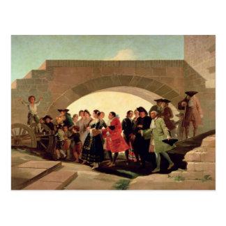 The Wedding, 1791-92 Postcard