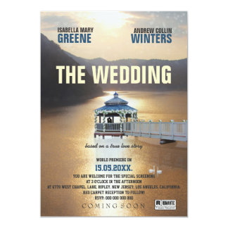 The Wedding 5x7 Paper Invitation Card