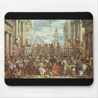 The Wedding at Cana Mouse Pad