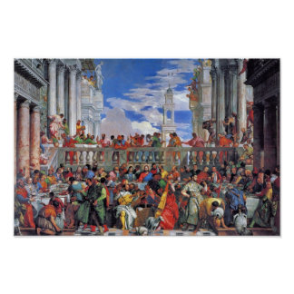 The Wedding At Cana., Wedding At Cana, Poster