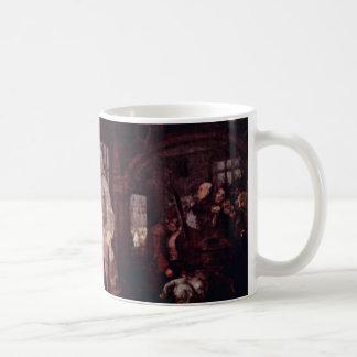 The Wedding Banquet By Hogarth William Coffee Mug