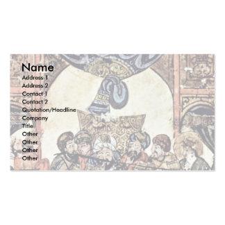 The Wedding Banquet By Irakischer Maler Um 1230 (B Double-Sided Standard Business Cards (Pack Of 100)