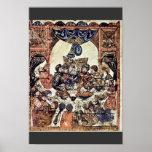 The Wedding Banquet By Irakischer Maler Um 1230 (B Poster
