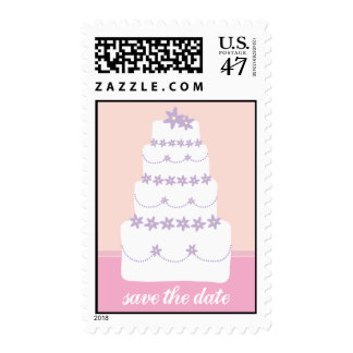 The Wedding Cake-Save The Date Postage