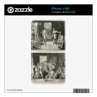 The Wedding Ceremony and the Manner of Divorce in iPhone 4 Skin