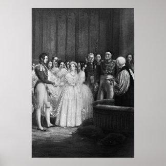 The wedding ceremony poster