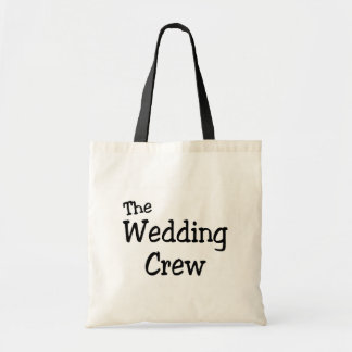 The Wedding Crew Tote Bags