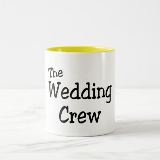 The Wedding Crew Mugs