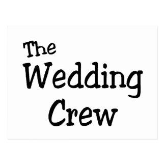 The Wedding Crew Postcards