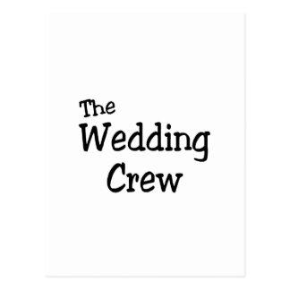 The Wedding Crew Postcard