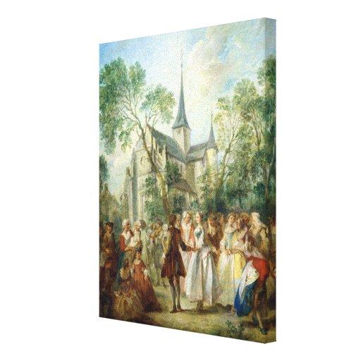 The Wedding Dance Canvas Print
