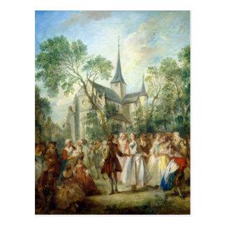 The Wedding Dance Postcard