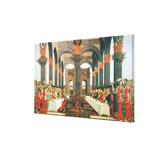 The Wedding Feast Canvas Print