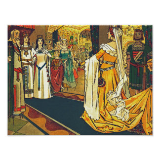 The Wedding Feast, Franz Jüttner Poster
