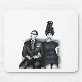 The wedding guests mouse pad