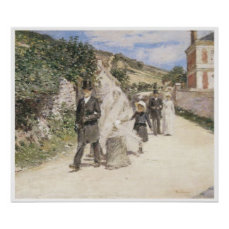 The Wedding March, 1892 Theodore Robinson Poster