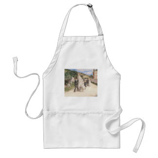 The Wedding March by Robinson, Vintage Newlyweds Adult Apron