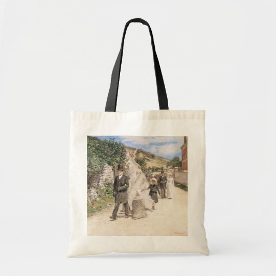 The Wedding March by Robinson, Vintage Newlyweds Tote Bag
