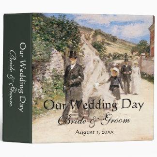 The Wedding March, Robinson, Vintage Impressionism Binder