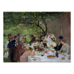 The Wedding Meal at Yport, 1886 Poster