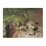 The Wedding Meal at Yport, 1886 Wood Wall Decor