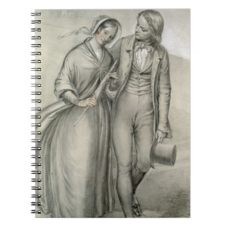 The Wedding Morning - The departure, c.1846 Notebook