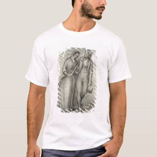 The Wedding Morning - The departure, c.1846 T-Shirt